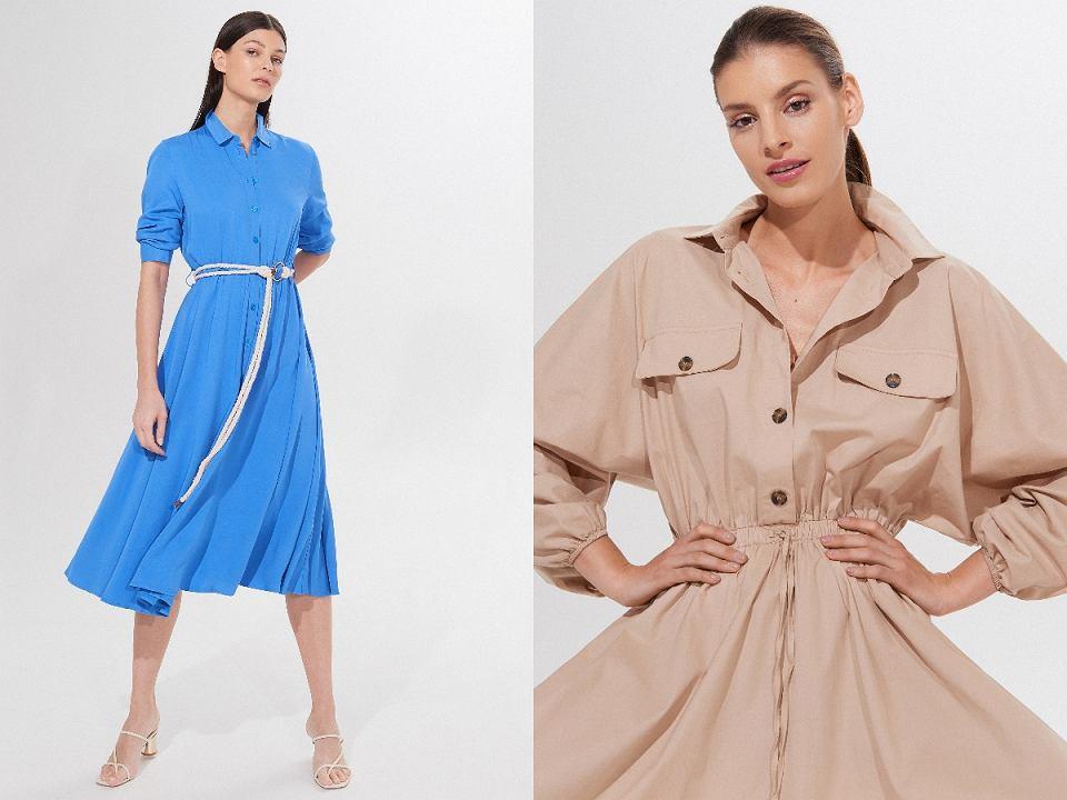 sukienki z naturalnych materiałów