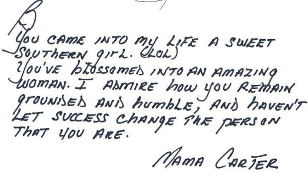 Gloria Carter, mama Jay'a-Z