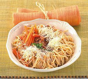 Marchewkowe spaghetti