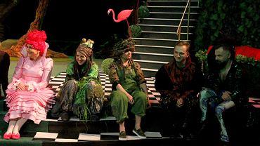 Próba spektaklu 'Śnieżka' w Teatrze Dramatycznym