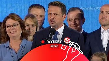 Wieczór wyborczy Rafała Trzaskowskiego