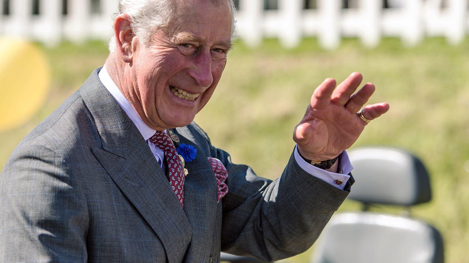 Książę Karol we wrześniu 2017 r.