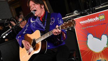 John Fogerty na wydarzeniu promujący Woodstock 50