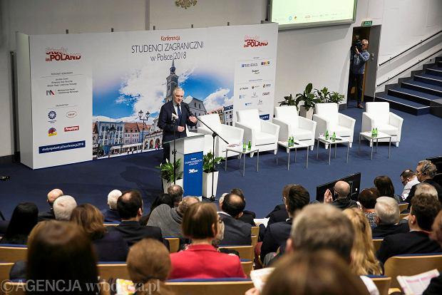 Konferencja 'Studenci zagraniczni w Polsce 2018' to wydarzenie organizowane cyklicznie w ramach programu 'Study in Poland'. Tym razem uczestnicy spotkali się w Politechnice Śląskiej