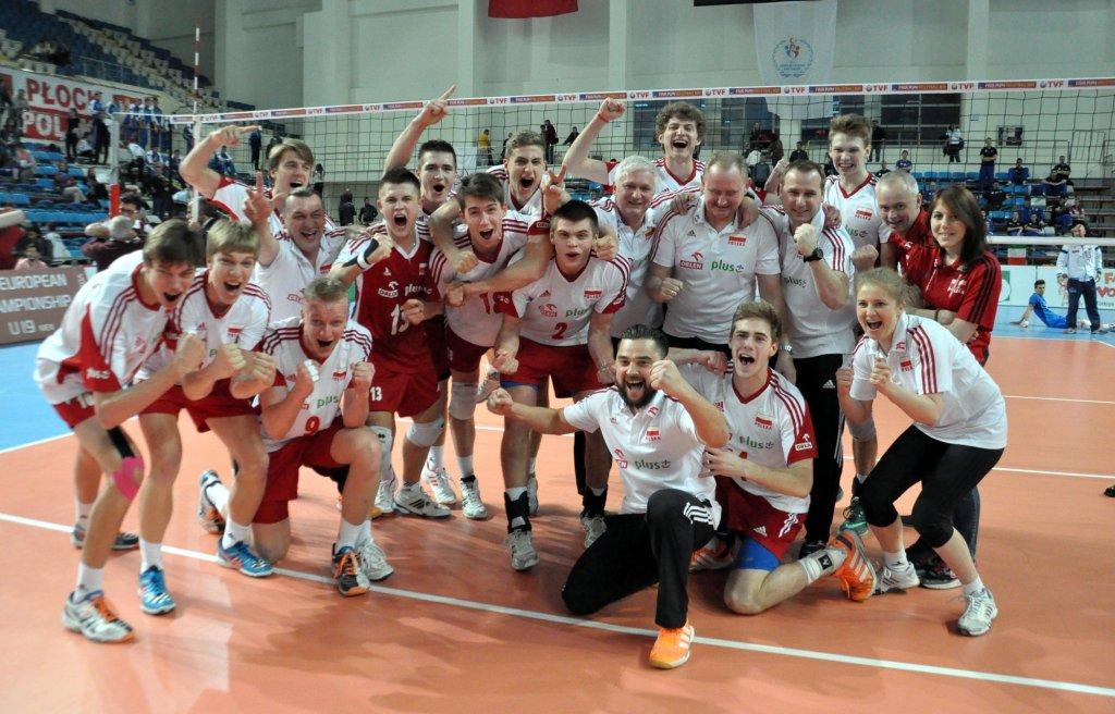 Polacy mistrzami Europy kadetów w siatkówce