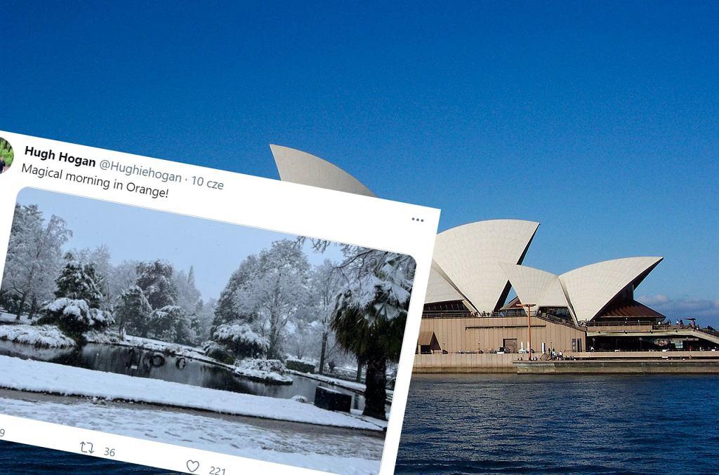 Atak zimy w Australii