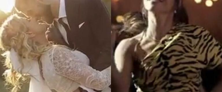 Do sieci trafił film ze ślubu Zborowskiej i Wrony. Oj, działo się na weselu. Królowie parkietu? Cielecka i Gelner
