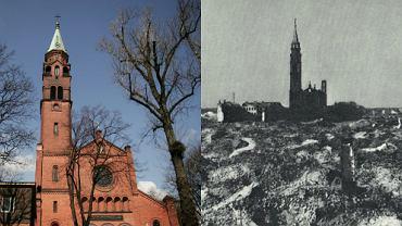 Kościół na Muranowie to jeden z nielicznych ocalałych po wojnie budynków
