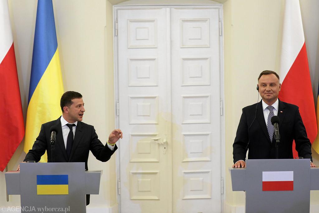 Prezydent Ukrainy w Polsce