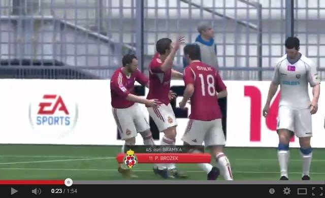 FIFA 14 Wisla - Zawisza