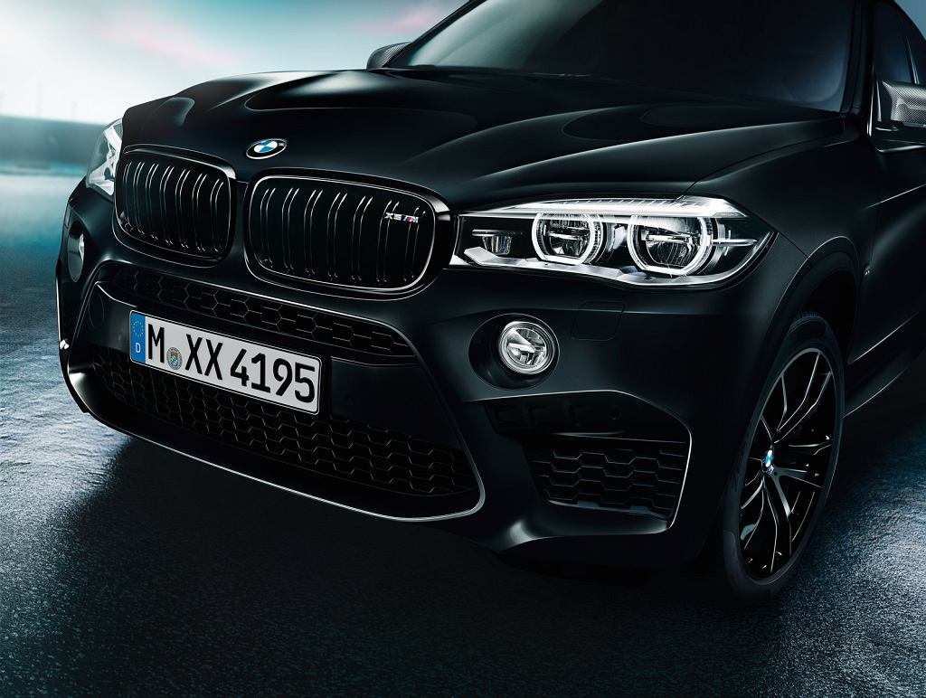 BMW X5 M i X6 M Black Fire Edition