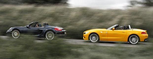 BMW Z4_Porsche Boxster