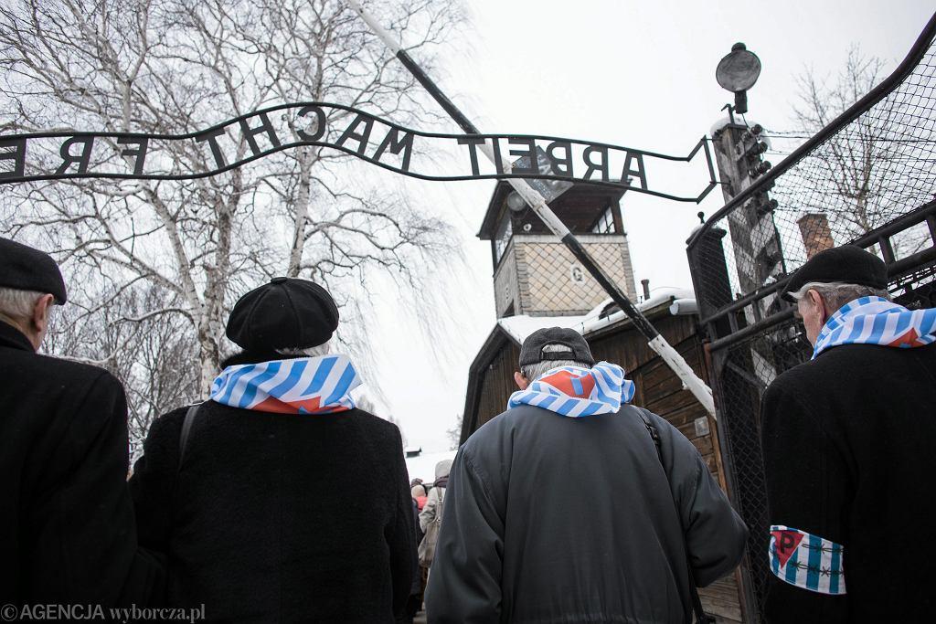 Byli więźniowie KL Auschwitz na uroczystościach z okazji 70. rocznicy wyzwolenia obozu