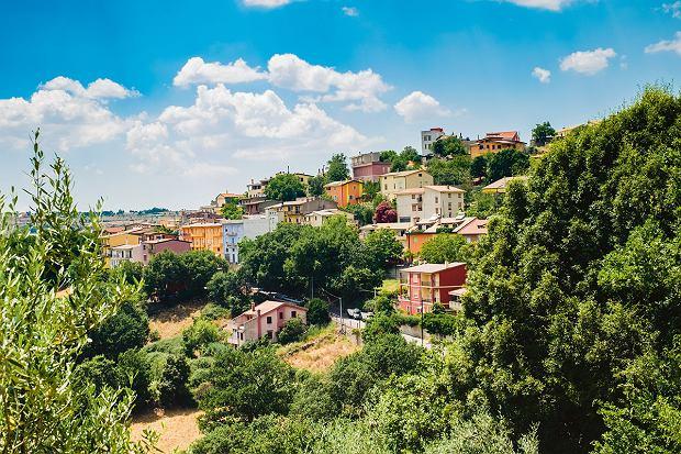 Sardynia, górskie miasteczko