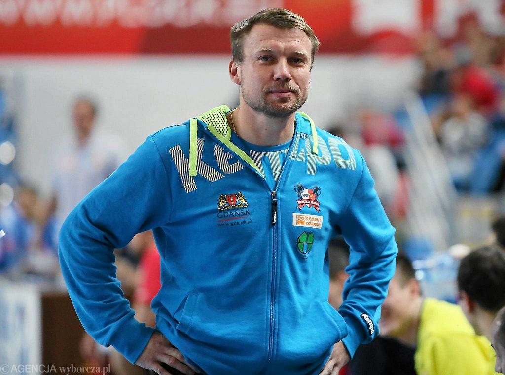 Damian Wleklak w roli trenera Wybrzeża Gdańsk