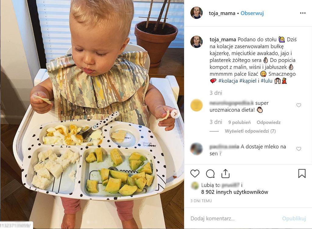 Olga Frycz opublikowała zdjęcie swojej rocznej córki