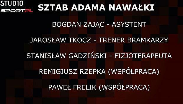 Sztab Adama Nawałki w Lechu Poznań