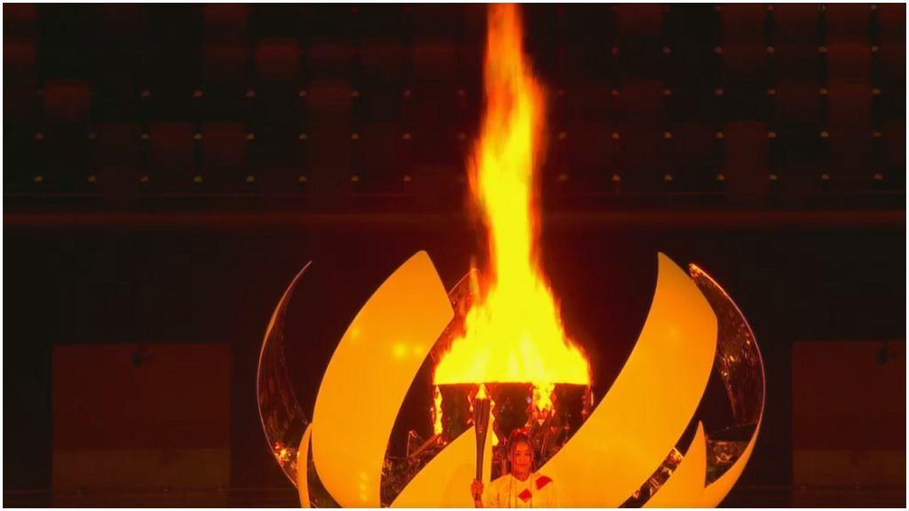 Znicz olimpijski w Tokio zapłonął