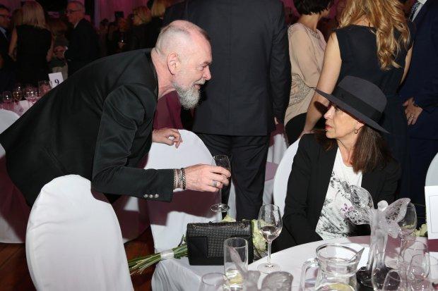 Wojciech Waglewski i żona Grażyna