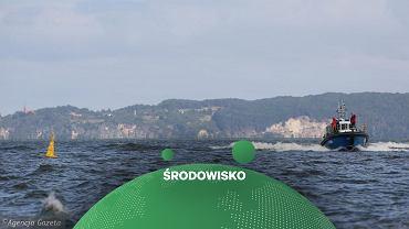 Nowe wyspy na Zalewie Szczecińskim - zdjęcie ilustracyjne