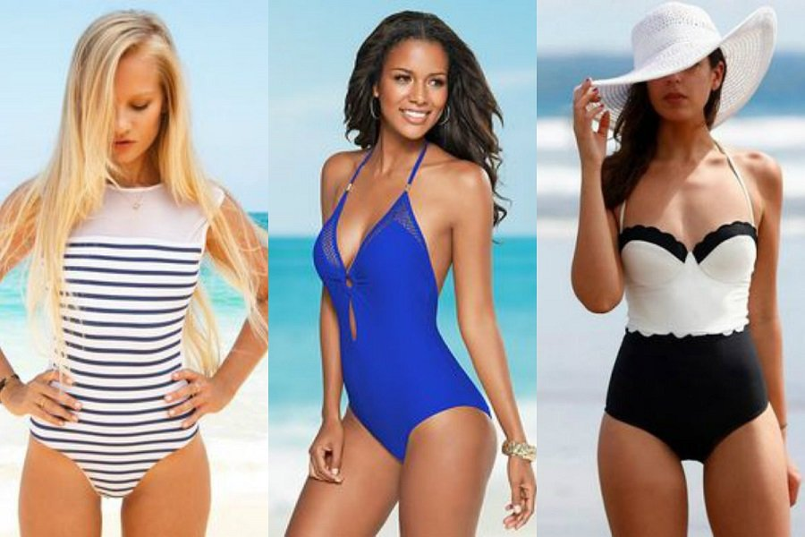 54f35ed443a3b0 Jednoczęściowe kostiumy kąpielowe - najciekawsze modele
