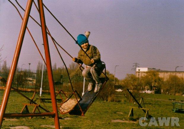 Park im. Edwarda Szymańskiego (1988 r). Wł. Anna Golik
