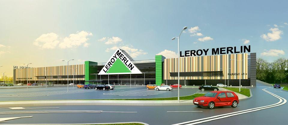 Znamy Termin Otwarcia Leroy Merlin W Olsztynie Wizualizacja