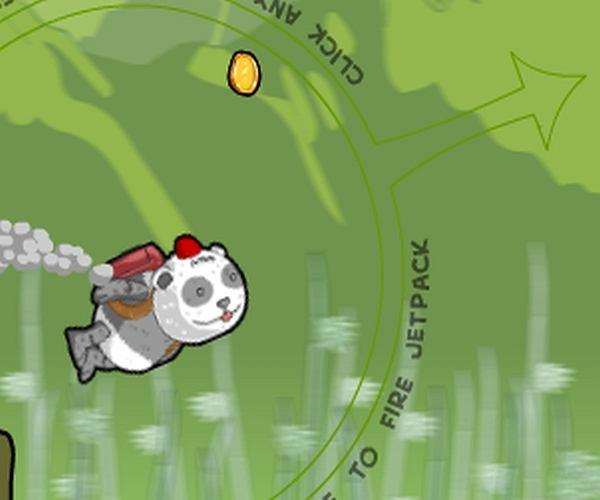 Pandy też potrafią latać!
