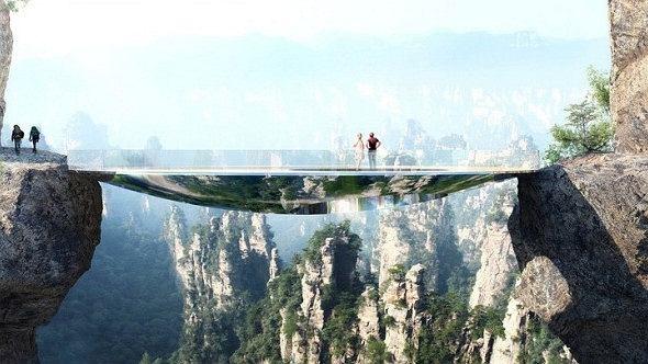 'Przezroczysty most
