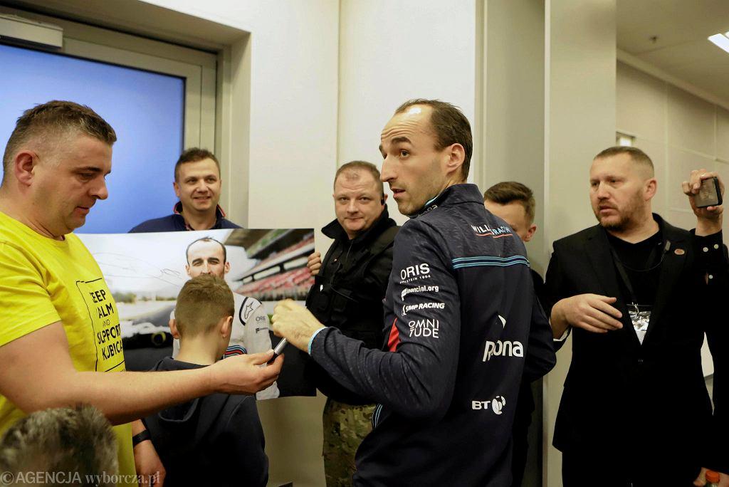 Zdjęcie numer 2 w galerii - Robert Kubica: Mam kolejny cel. Trudniejszy od powrotu do F1