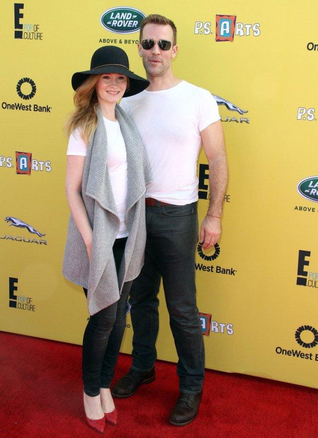 James Van Der Beek z żoną Kimberly Brook