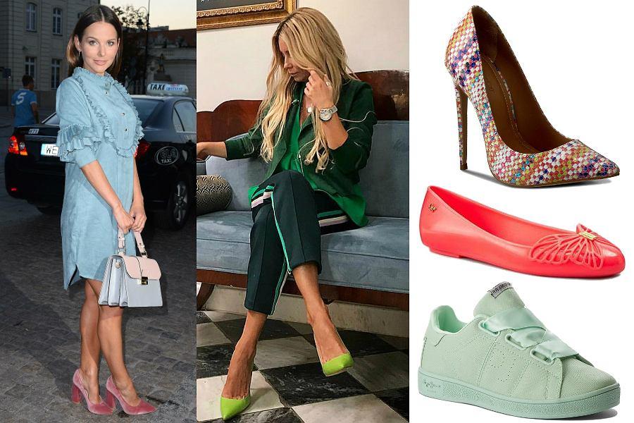 Kolorowe buty na wiosnę