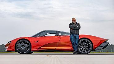 Chris Harris i McLaren Speedtail