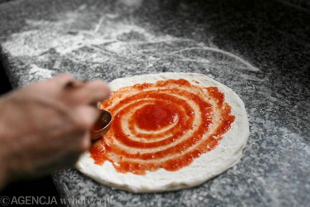 28.02.2014 Gdansk . Pizzeria Gamberorosso fot. Lukasz Glowala / Agencja Gazeta