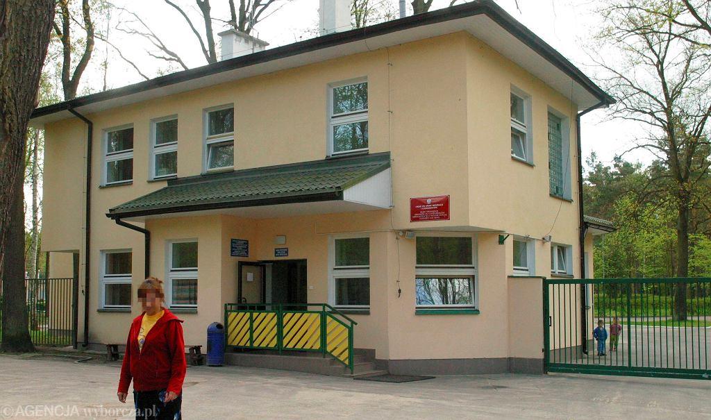 Ośrodek dla uchodźców w Dębaku.