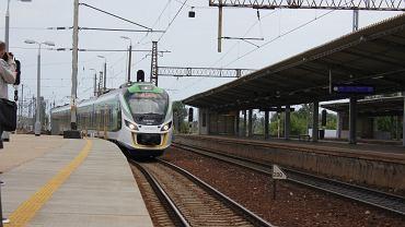Nowy pociąg Kolei Mazowieckich
