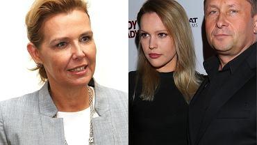 Marianna Dufek, Julia Oleś-Miła i Kamil Durczok