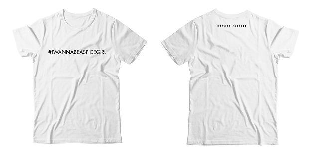2a3db2b0a151eb Spice Girls chcą dla kobiet równości, ale koszulki, które sygnują ...