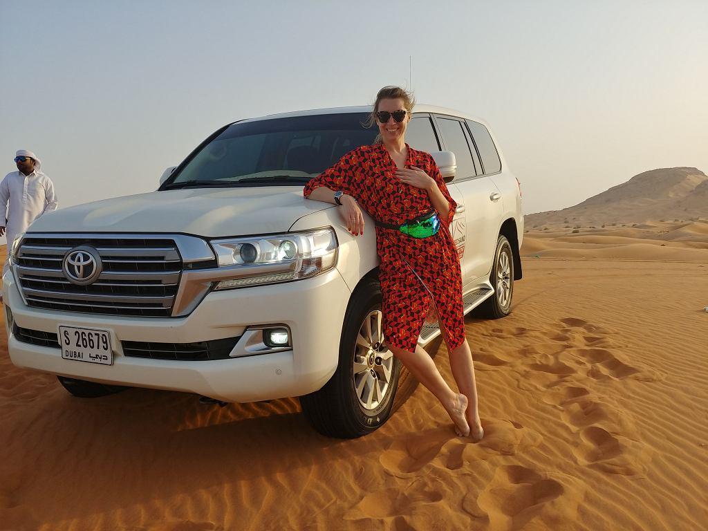 Wycieczka po wydmach na pustyni