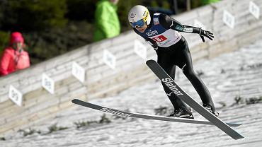 Yukiya Sato zaczął sezon od 17. miejsca w Wiśle (na zdjęciu). W Niżnym Tagile zwyciężył