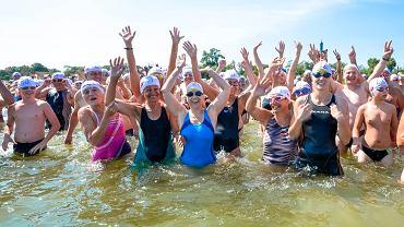 II wyścig pływacki dookoła molo Timex Cup 2014