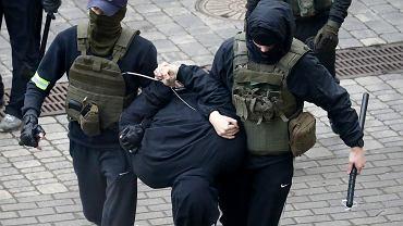 8.11.2020, kolejny dzień protestów w Mińsku