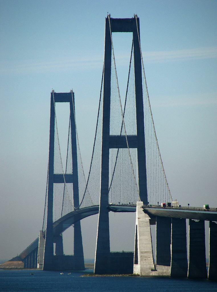 Most Wschodni w Danii.