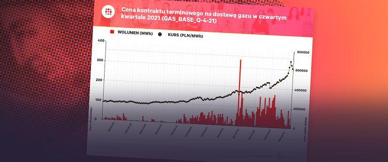 Kryzys gazowy rozlewa się po Europie. Już są z tego poważne kłopoty [WYKRES DNIA]