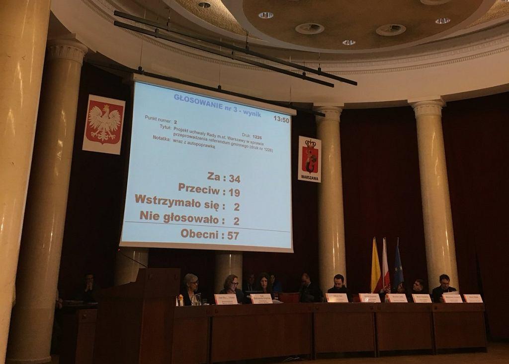 26 marca 2017 roku odbędzie się referendum gminne w m.st. Warszawie w sprawie zmiany granic stolicy.