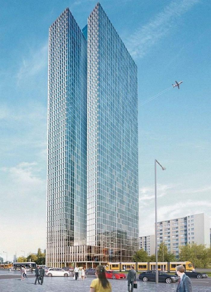 Spółka związana z PiS wybuduje 190-metrowy wieżowiec