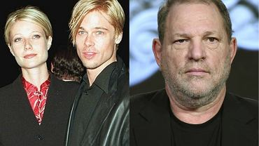 Gwyneth Paltrow i Brad Pitt / Harvey Weinstein