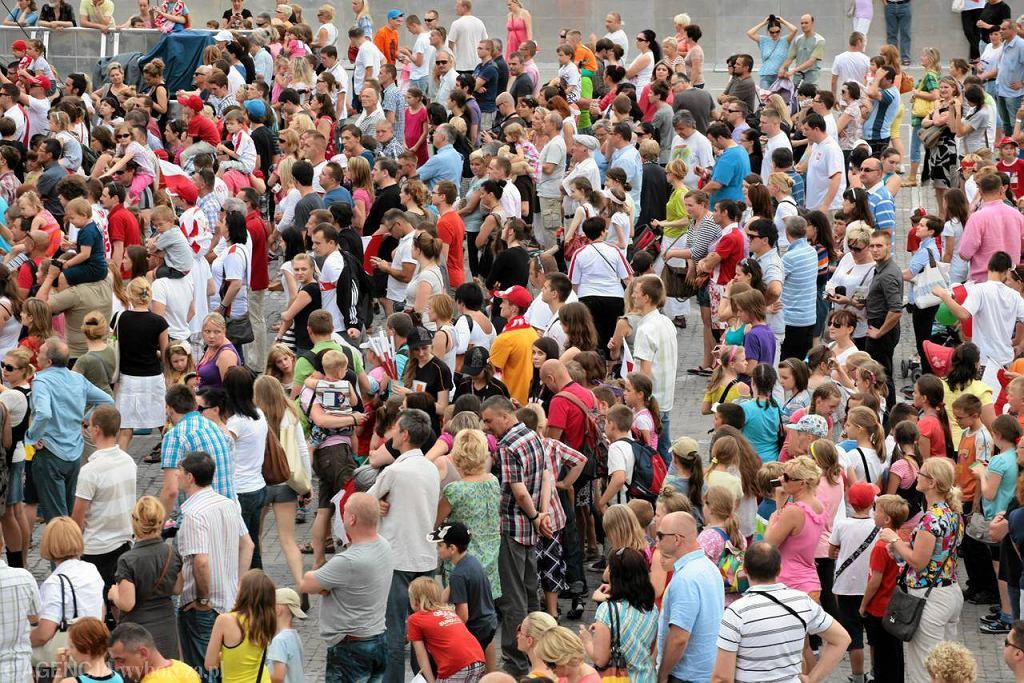 Strefa Kibica zgromadziła w niedzielne popołudnie najwytrwalszych kibiców polskiej reprezentacji
