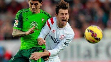 Piłkarzem Sevilli jest reprezentant Polski Grzegorz Krychowiak
