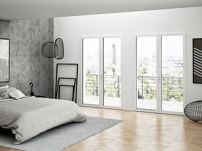 1. Okna PIXEL - widoczny design